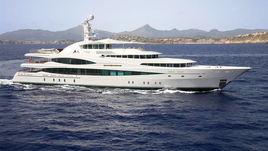 LADY CHRISTINE Yacht
