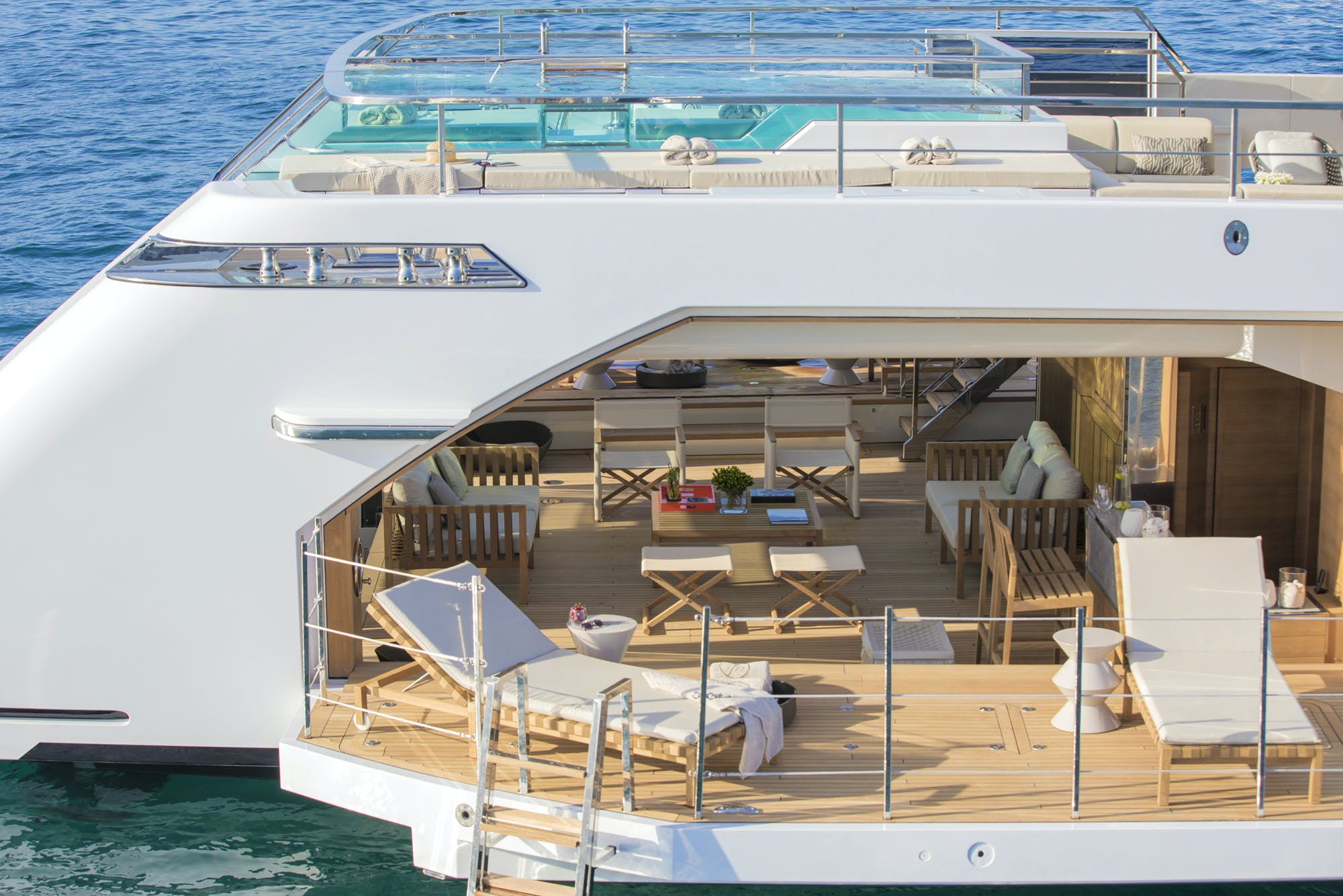 Seasonal Rates for LADY LENA Private Luxury Yacht For Charter