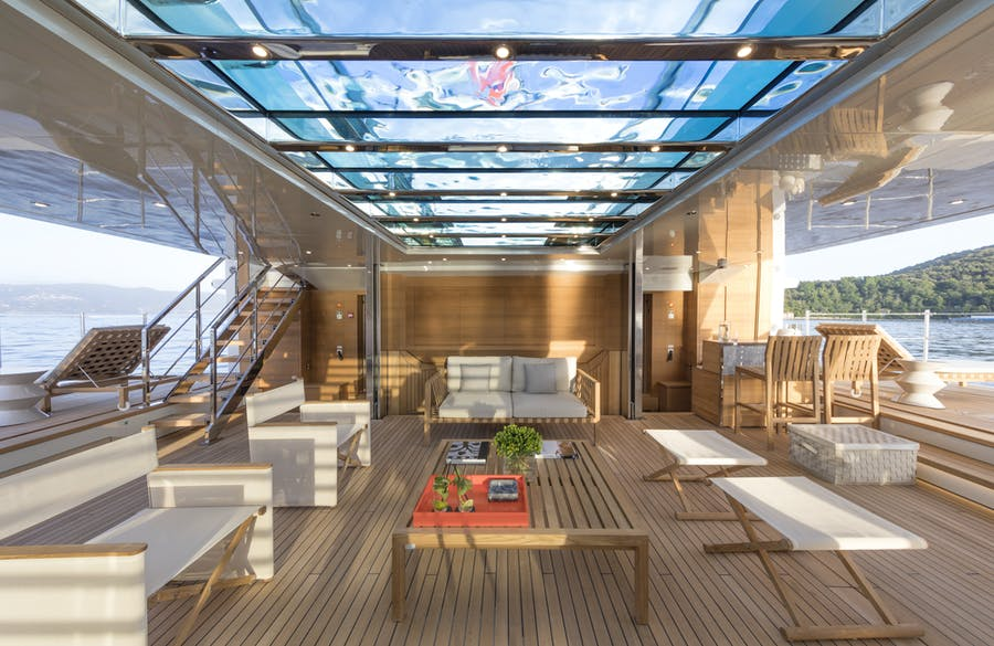 Tendar & Toys for LADY LENA Private Luxury Yacht For charter