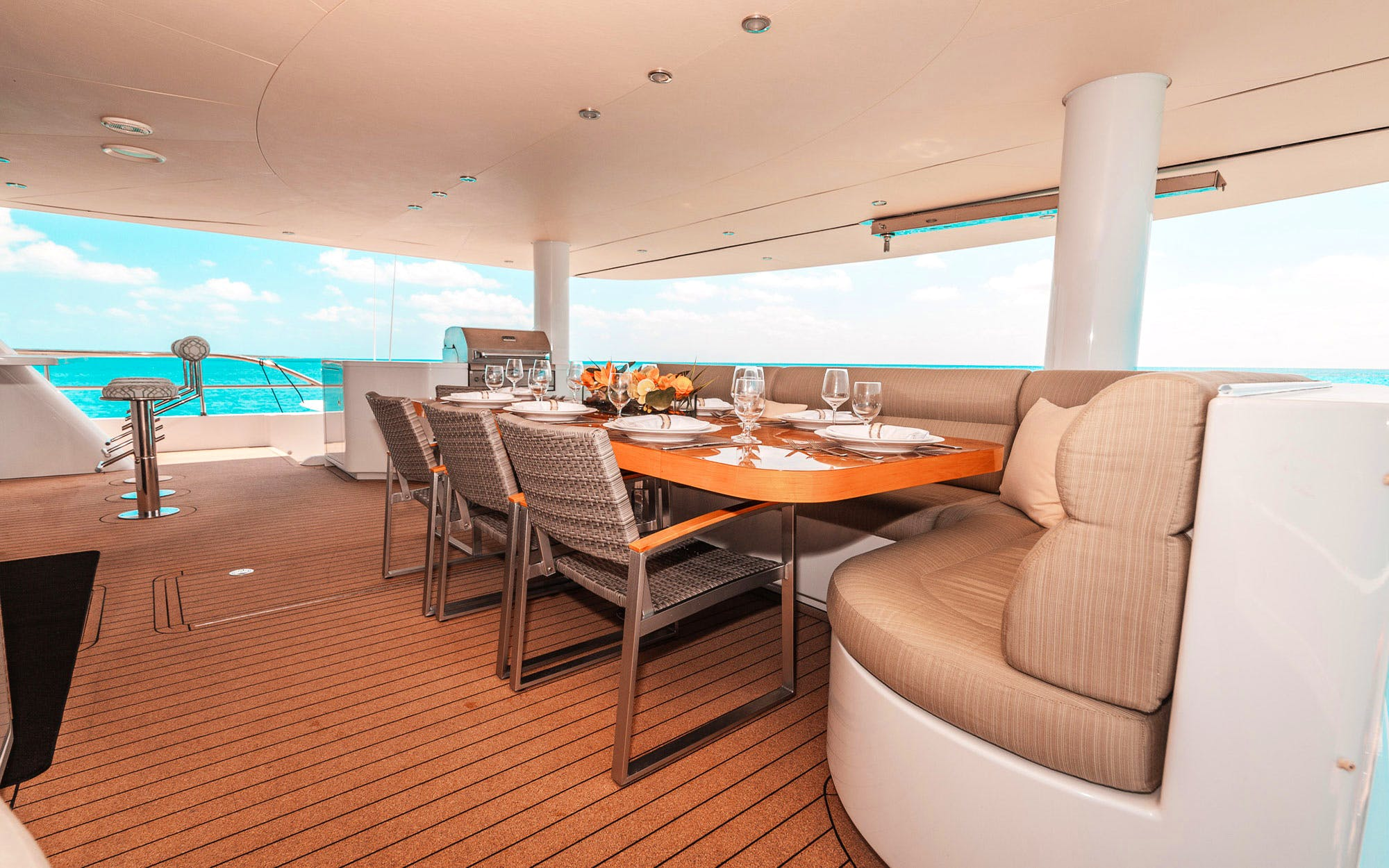 Seasonal Rates for SAMARA Private Luxury Yacht For Charter