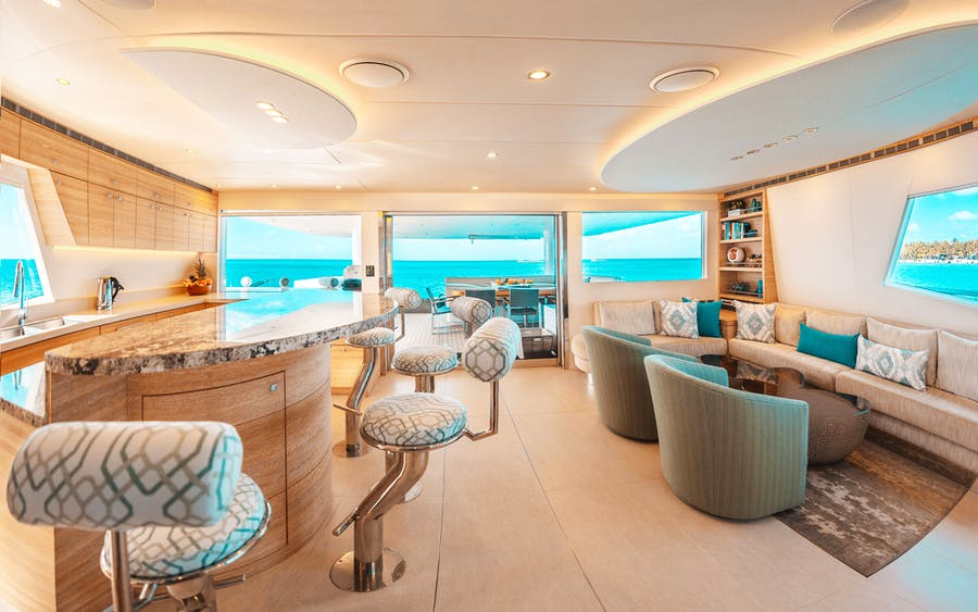 Features for SAMARA Private Luxury Yacht For charter