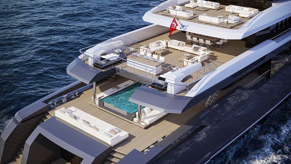 RMK 58 Yacht