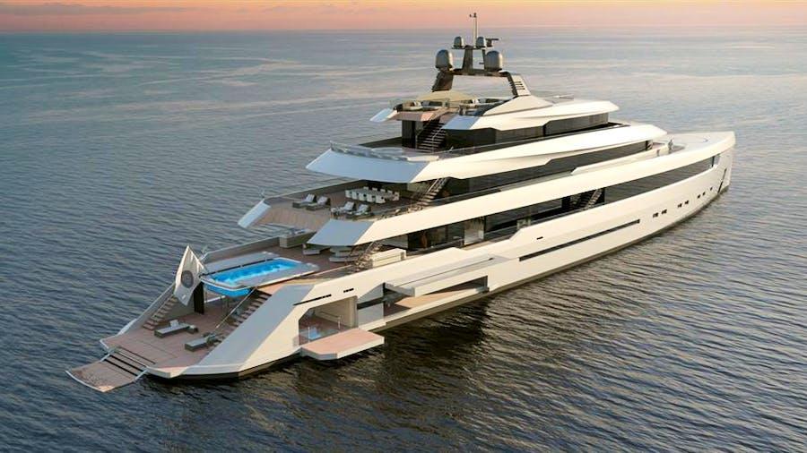 86M Project STARLIGHT Yacht