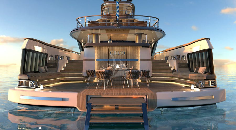 Tendar & Toys for GECO Private Luxury Yacht For charter