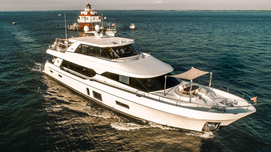 The Rock  Yacht
