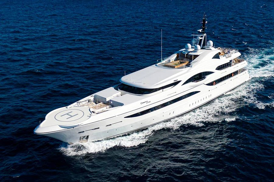 Details for QUANTUM OF SOLACE Private Luxury Yacht For sale