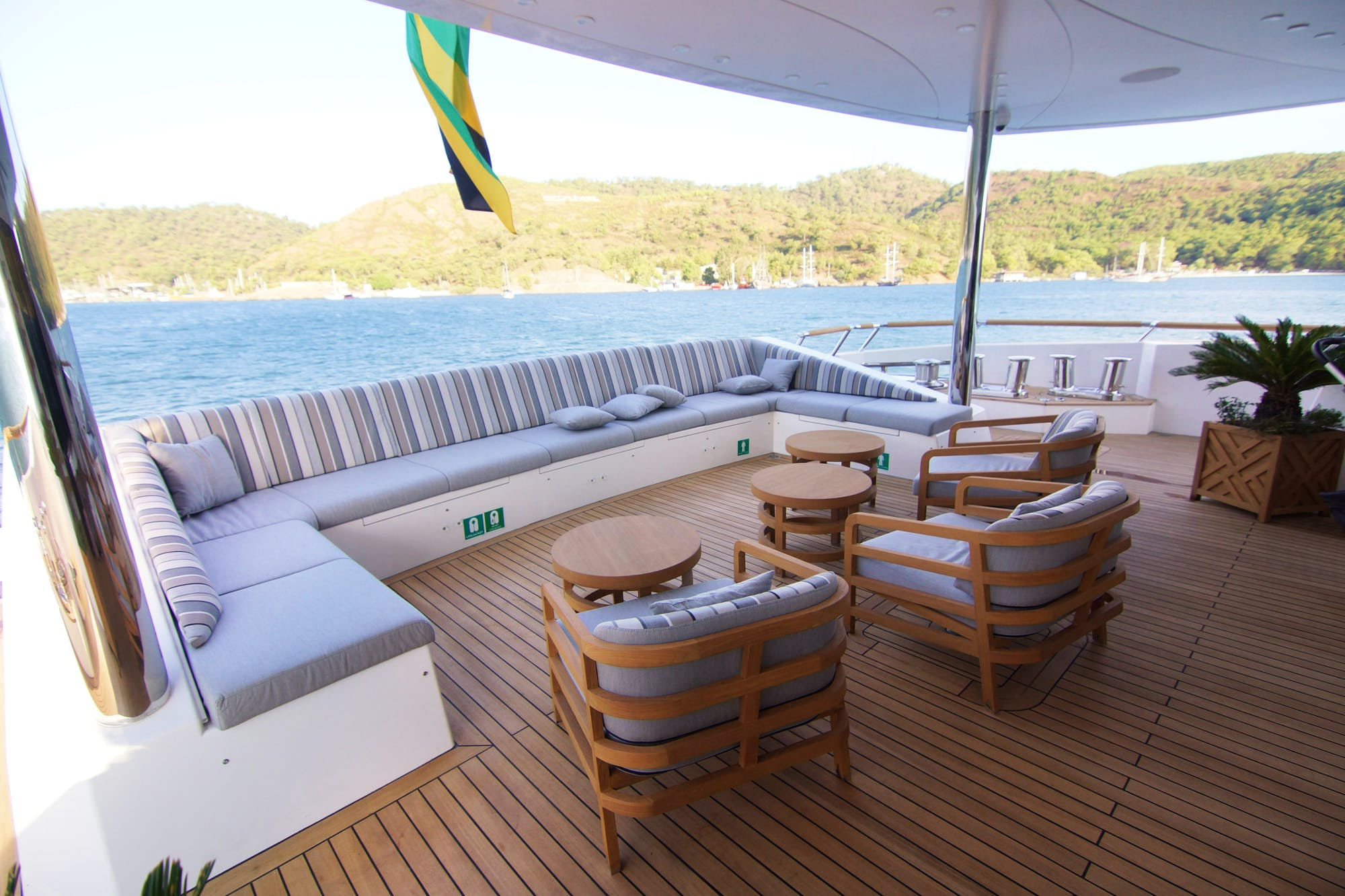 Seasonal Rates for BABA'S Private Luxury Yacht For Charter