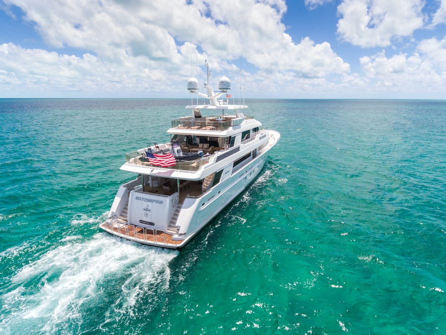Features for NEXT CHAPTER Private Luxury Yacht For sale