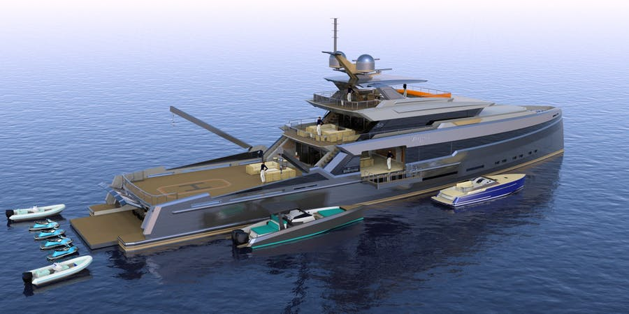 Details for SPECTRAL 50M Private Luxury Yacht For sale