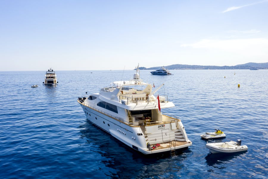 Features for ACE1  Private Luxury Yacht For sale
