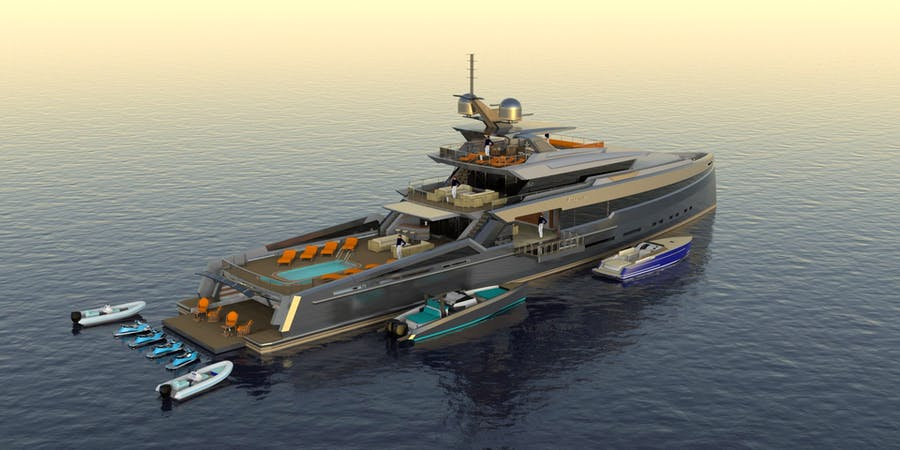 Features for SPECTRAL 50M Private Luxury Yacht For sale