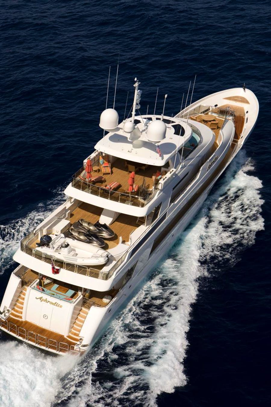 Features for APHRODITE Private Luxury Yacht For sale