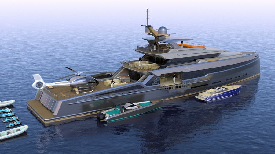 Spectral 50m Yacht