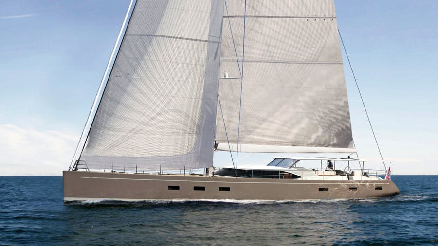 CHILD OF LIR  Yacht