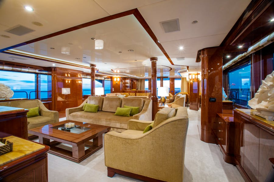 Features for CHECKMATE Private Luxury Yacht For sale