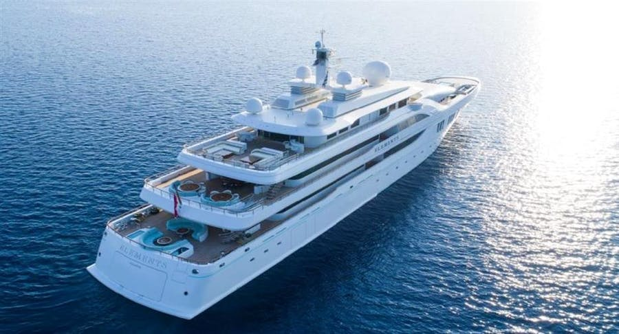 Details for ELEMENTS Private Luxury Yacht For sale