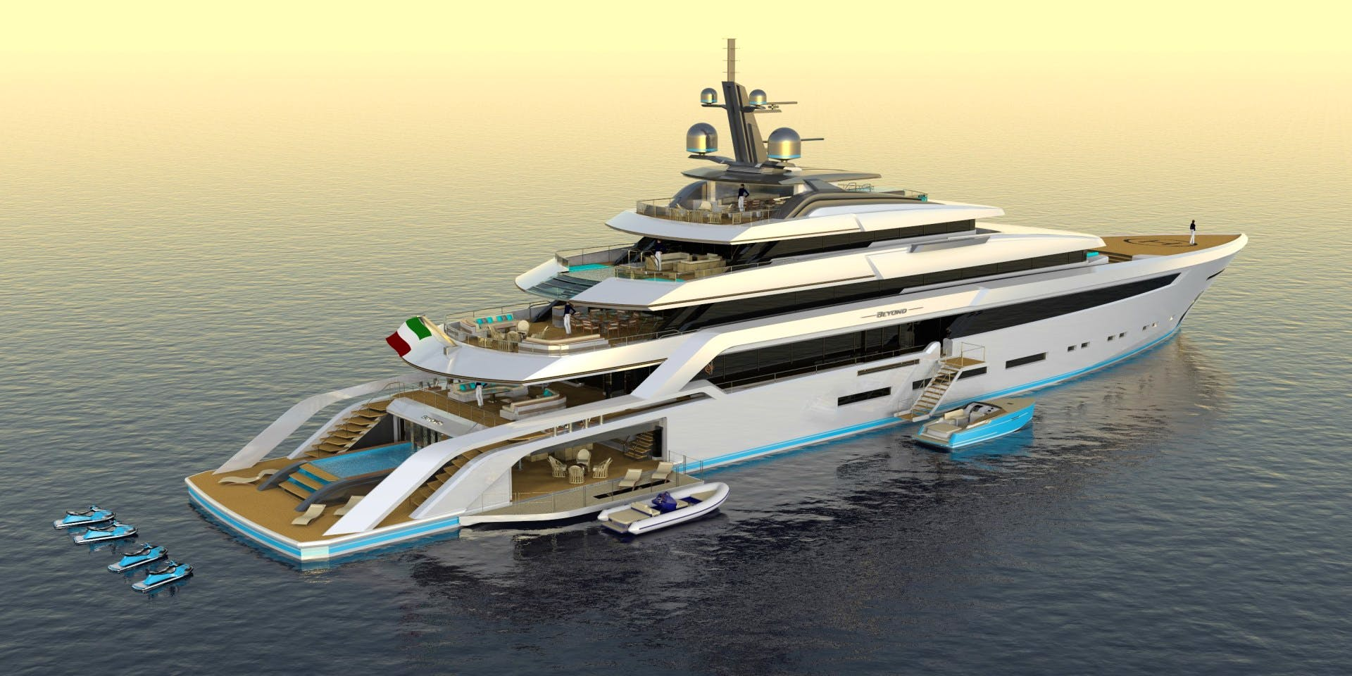 BEYOND 82M Yacht
