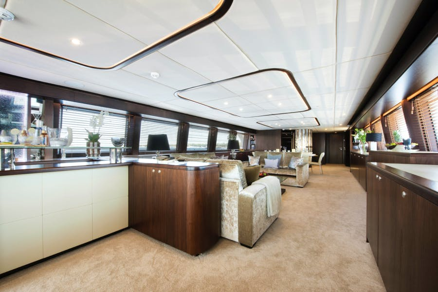 Features for CRYSTAL Private Luxury Yacht For sale