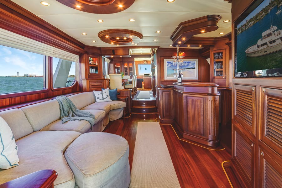 Features for CHANSON II Private Luxury Yacht For sale