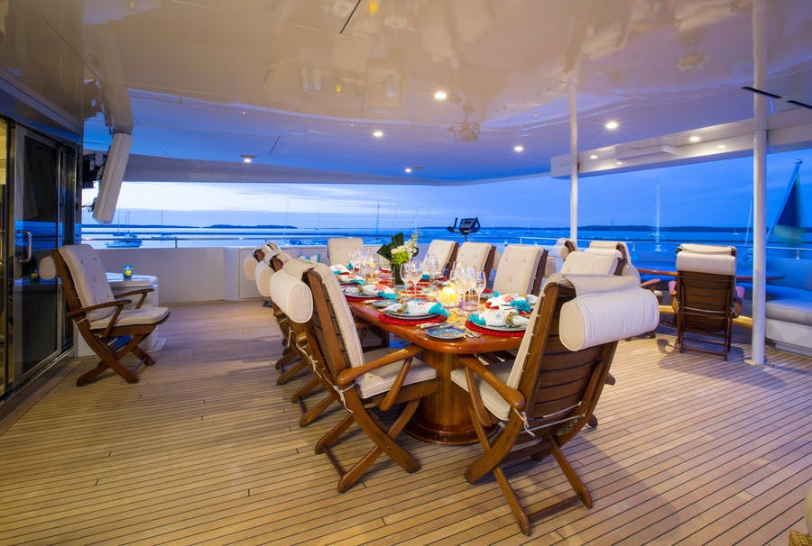 Features for RHINO Private Luxury Yacht For sale