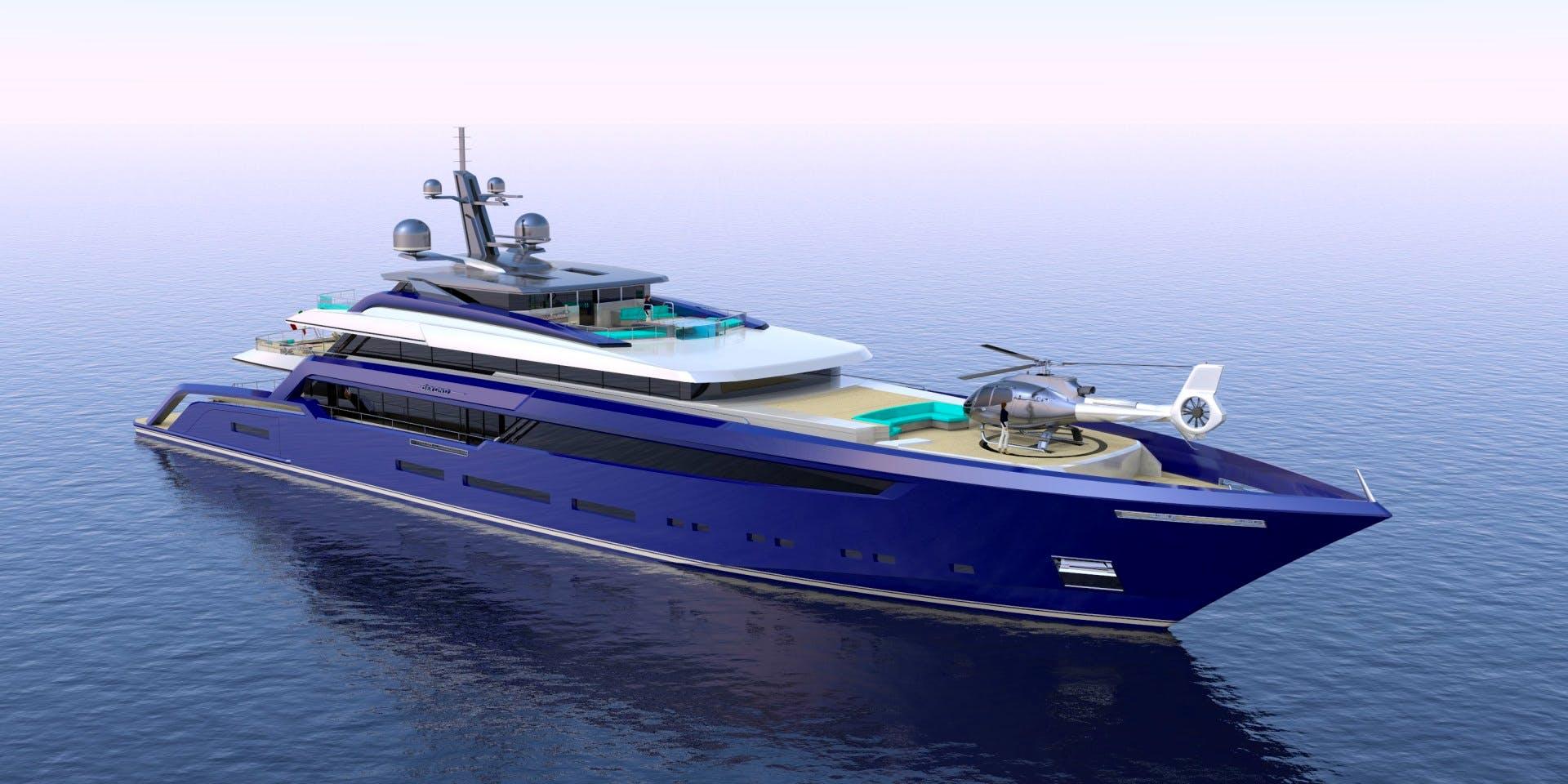 BEYOND 72M Yacht