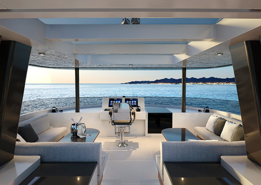 Features for CRESCENT 110 Private Luxury Yacht For sale