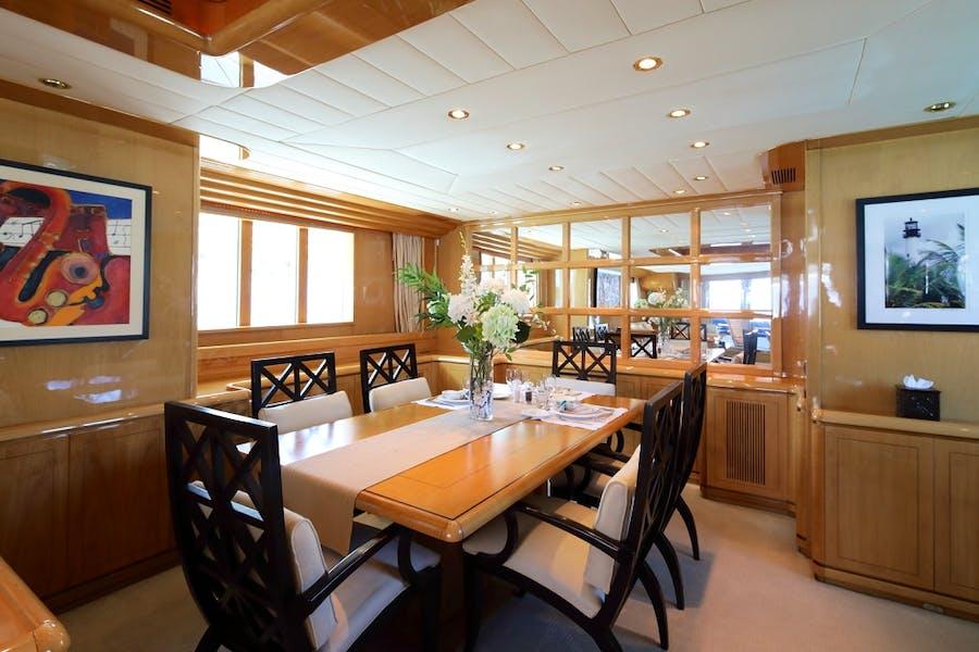 Tendar & Toys for INDIGO Private Luxury Yacht For charter