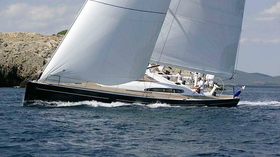 BLUE OYSTER  Yacht