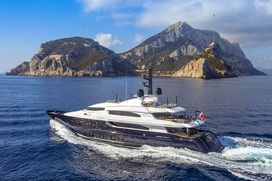 Details for EIGHT Private Luxury Yacht For sale