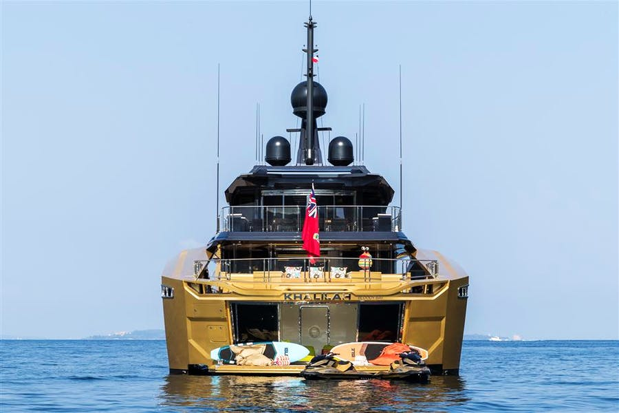 Details for KHALILAH Private Luxury Yacht For sale