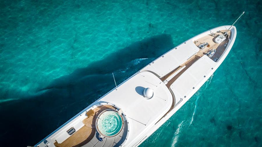 Features for TURQUOISE Private Luxury Yacht For sale