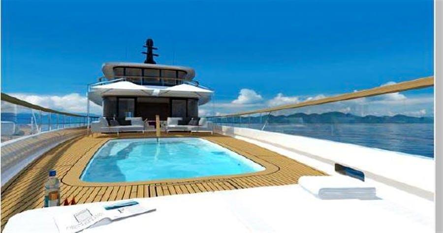 Details for 162' PRIME MEGAYACHT PLATFORM CALOU Private Luxury Yacht For sale