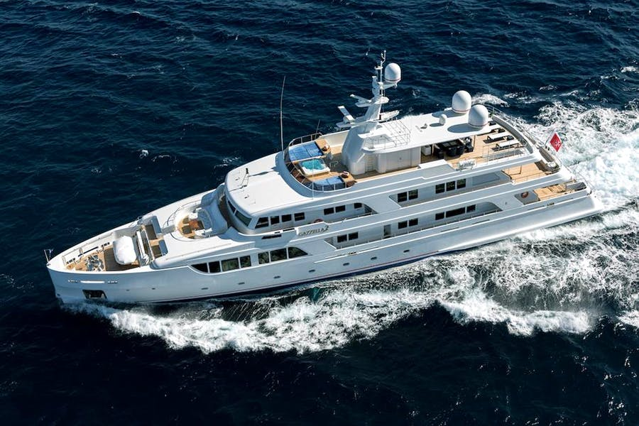 Details for GAZZELLA Private Luxury Yacht For sale