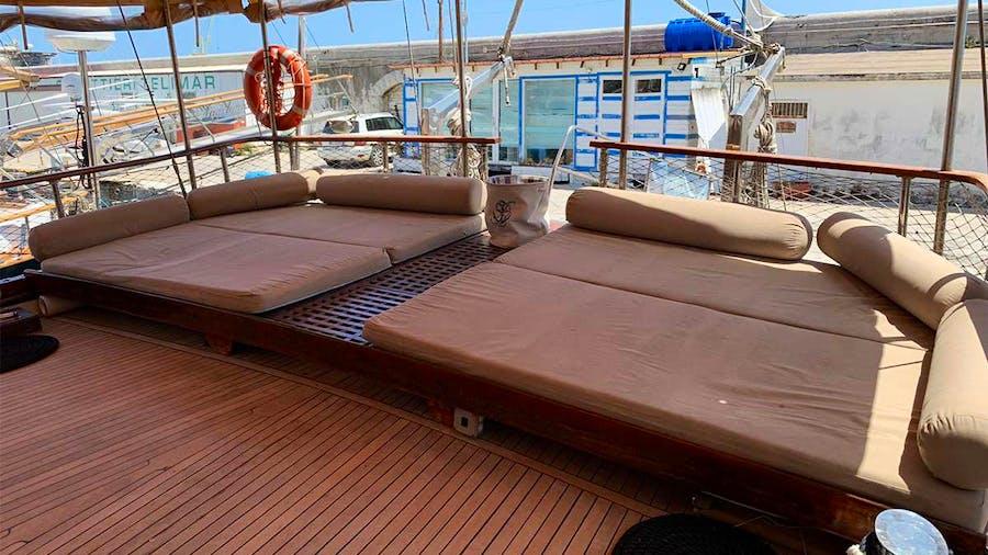HANDE CAPO GALERA Yacht
