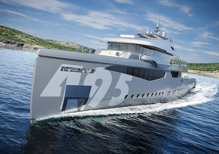 Features for RMK 5000 EVO EXPLORER Private Luxury Yacht For sale