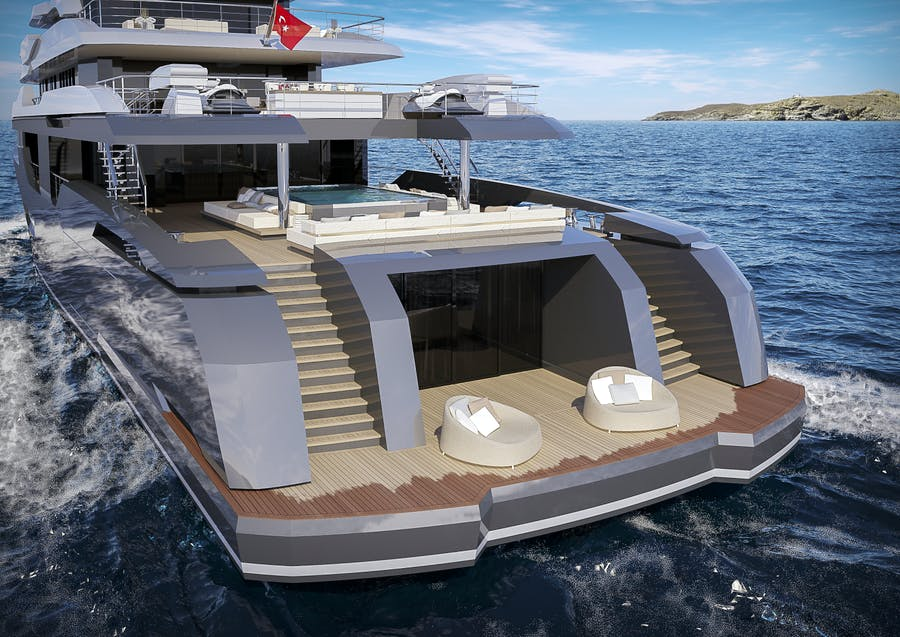 Details for RMK 58M Private Luxury Yacht For sale