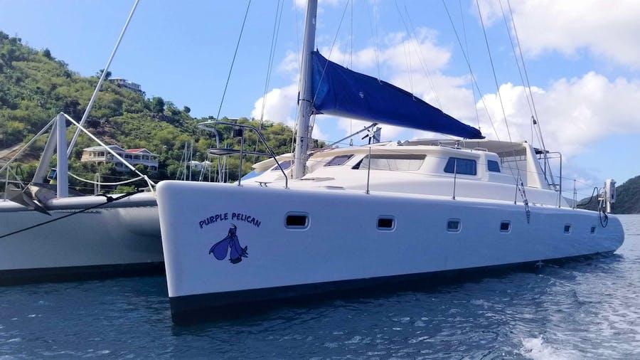 Purple Pelican Yacht