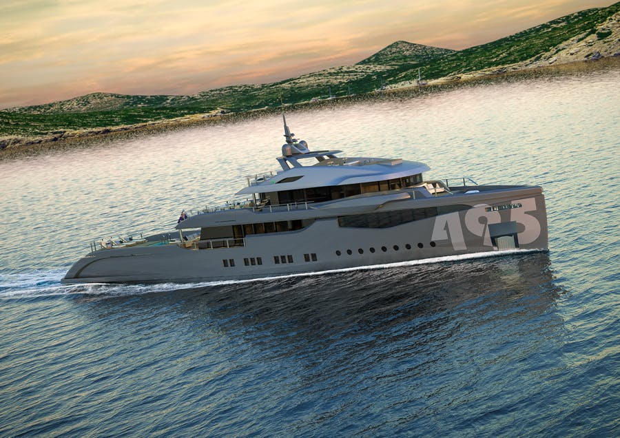 Details for RMK 5000 EVO EXPLORER Private Luxury Yacht For sale
