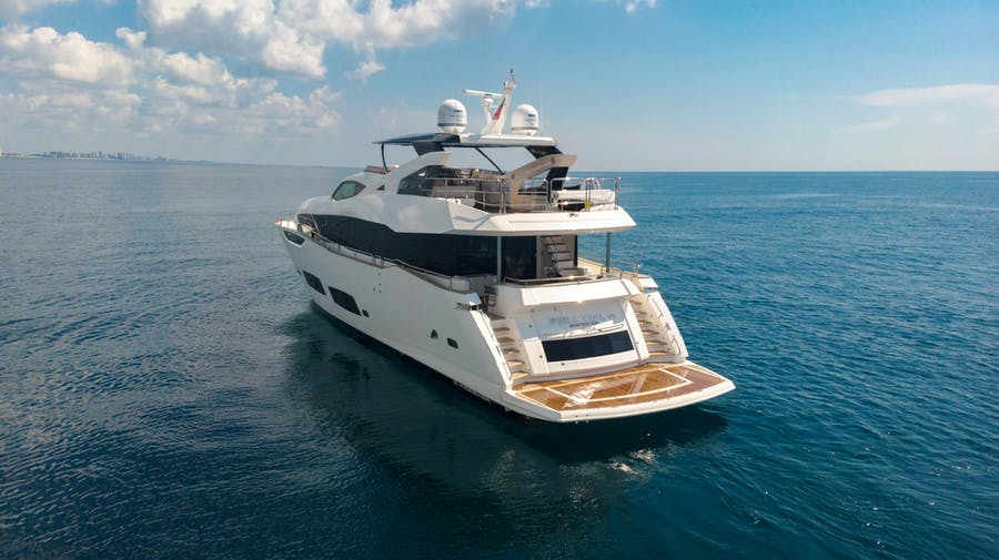 Features for PV 95 Private Luxury Yacht For sale