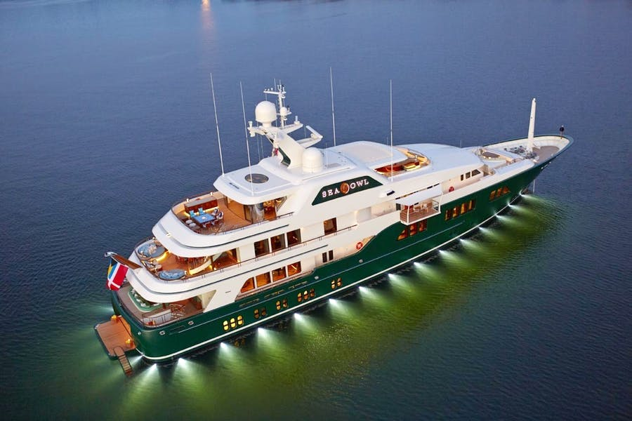 Features for SEA OWL Private Luxury Yacht For sale