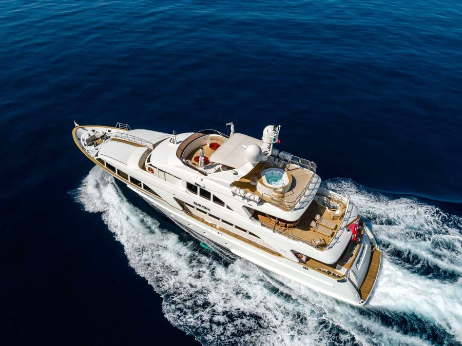 Features for TANUSHA Private Luxury Yacht For sale