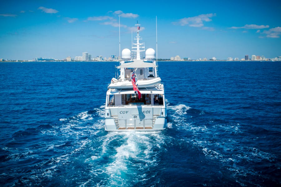 Features for COY KOI Private Luxury Yacht For sale