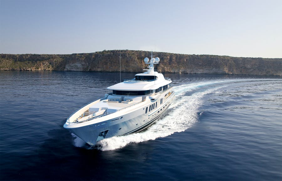 Features for AMELS 220 Private Luxury Yacht For sale