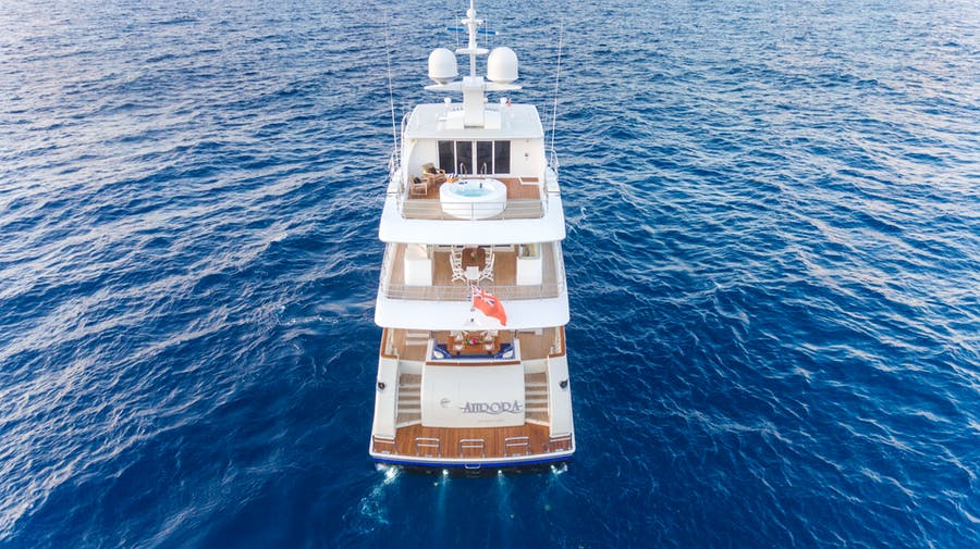 Features for MY AURORA Private Luxury Yacht For sale