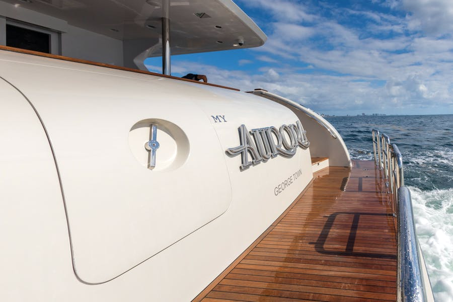 Details for MY AURORA Private Luxury Yacht For sale