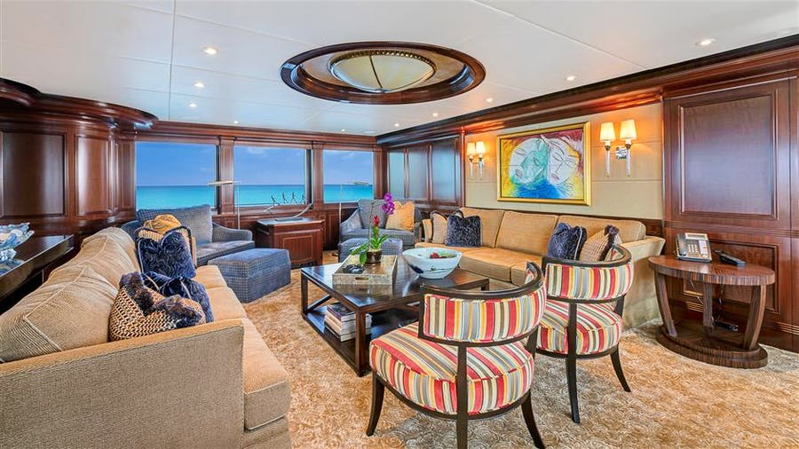 Features for SOVEREIGN Private Luxury Yacht For sale