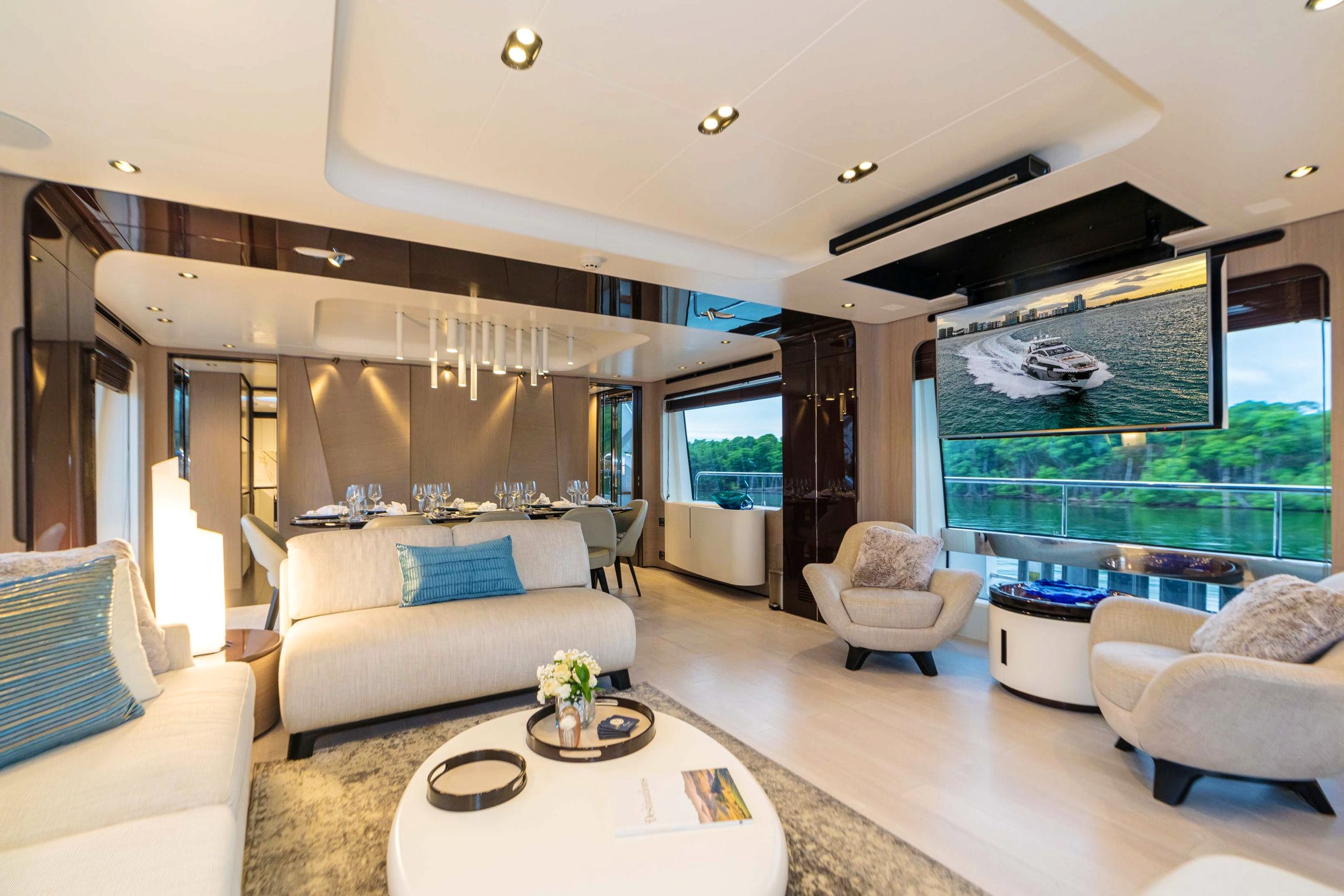 Seasonal Rates for MAJESTIC MOMENTS Private Luxury Yacht For Charter