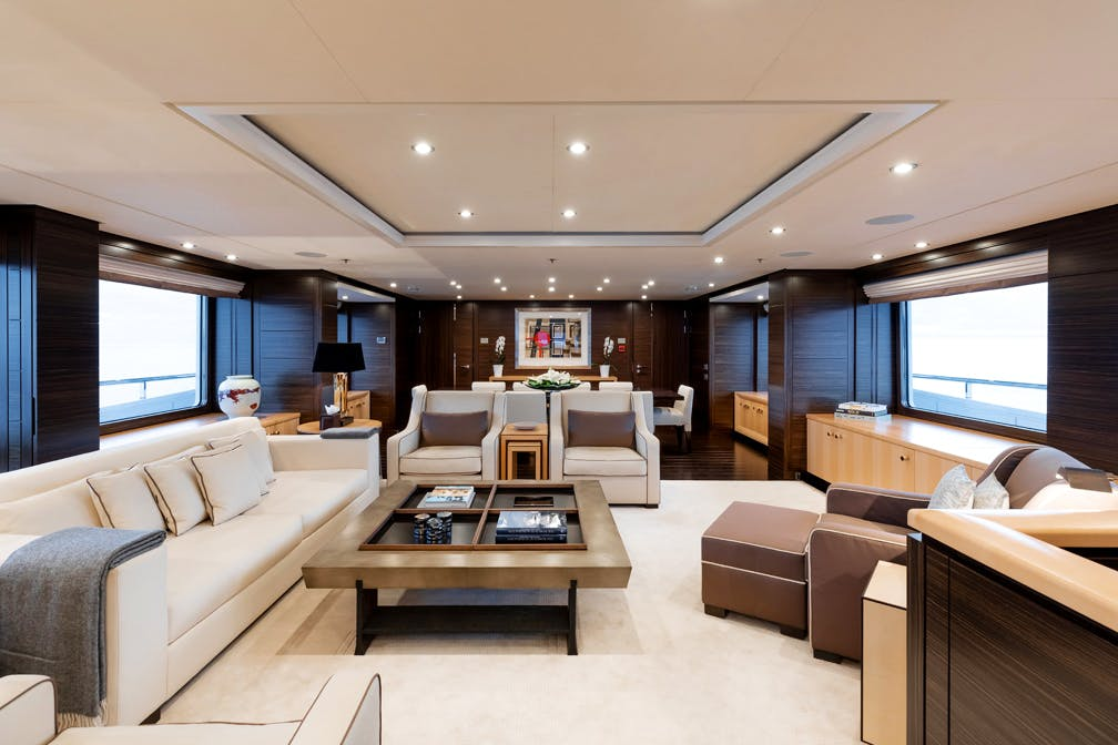 Seasonal Rates for REVELRY Private Luxury Yacht For Charter