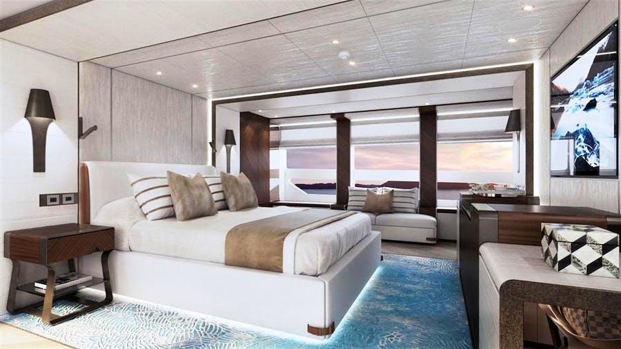 Heesen 5000 Aluminium YN 19850 Project Sapphire Yacht