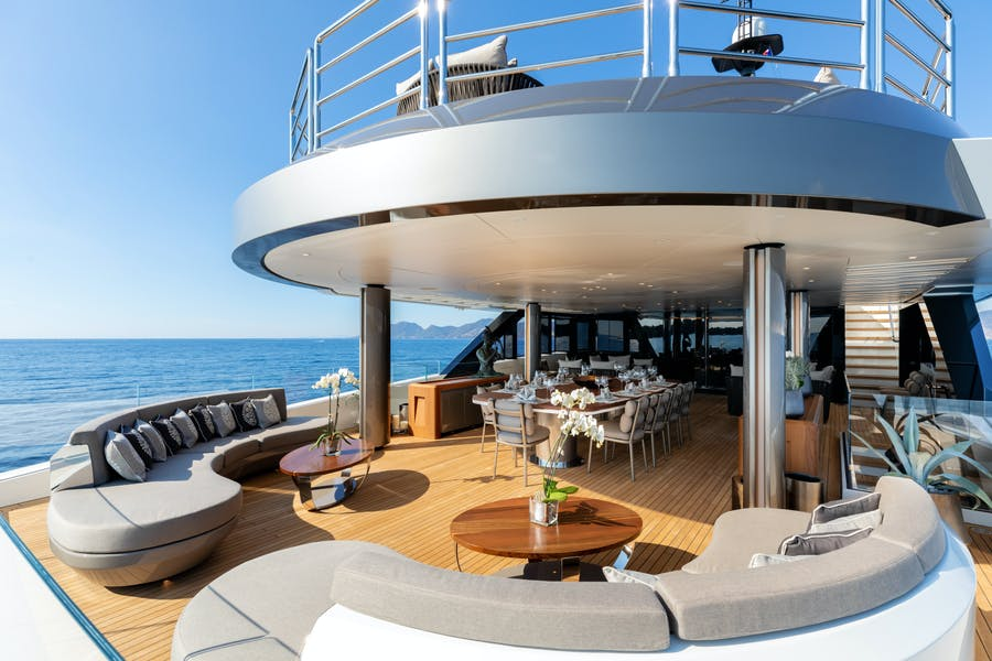 Features for SOLO Private Luxury Yacht For sale